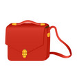 fashion handbag vector image vector image
