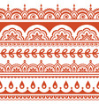indian seamless pattern design elements vector image