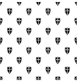 Protective shield pattern simple style vector image vector image