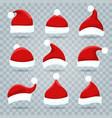 Santa christmas hat set