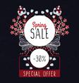Spring sale special offer floral decoration