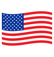 american national flag design graphic vector image vector image