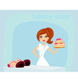 bakery store vector image