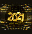 christmas and happy new year 2021 vector image vector image