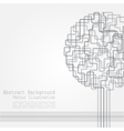 concept tree background for different design vector image