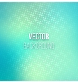 Emerald Blurred Background With Halftone Effect vector image vector image