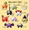 Halloween minis vector image vector image