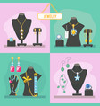 jewelry shop beauty items for woman expensive vector image vector image