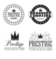 Logo prestige premium vector image