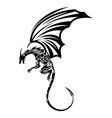 dragon 12 vector image