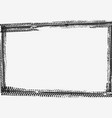 frame made black tyre prints grunge border vector image vector image