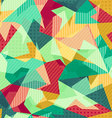 retro mosaic seamless pattern vector image