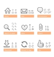 universal software icon set web part vector image