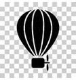 aerostat balloon icon vector image