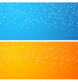 Circles technology banners vector image vector image