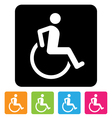 Disabled sign vector | Price: 1 Credit (USD $1)