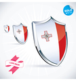 I Love Malta Flag vector image vector image