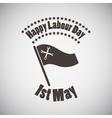 Labour Day Emblem vector image