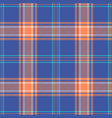 plaid pattern seamless background vector image vector image