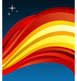 Spain flag background vector image vector image