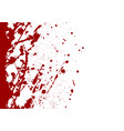 abstract paint splatter red color background vector image vector image