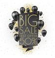 big sale banner template design vector image vector image