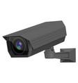 cctv security camera black surveillance equipment vector image vector image