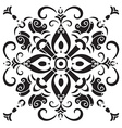 Hand drawing decorative tile pattern Italian vector image vector image