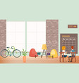 people work at creative office modern open space vector image