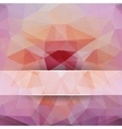 Polygonal background for design vector image
