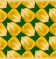 ripe yellow corn seed seamless pattern vector image