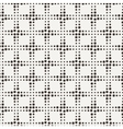 seamless geometric pattern of dots of vector image vector image