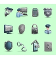 Security Symbols Icons Set vector image vector image