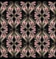 vintage damask floral seamless pattern elegance vector image