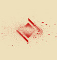 abstract geometric background with splash texture vector image