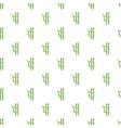 Bamboo pattern cartoon style vector image vector image