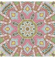 geometric kaleidoscopic seamless pattern vector image