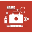 Home doctor vector image