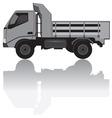 medium trucks vector image vector image