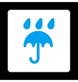 Rain protection icon vector image