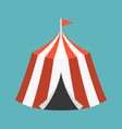 retro circus tent vector image vector image