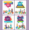 best discount -25 off sale vector image