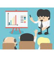 Business meeting brainstorming vector image vector image
