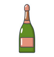 champagne icon cartoon style vector image vector image