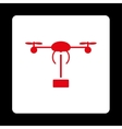Copter shipment icon vector image vector image