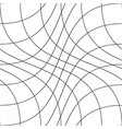grid seamless motion pattern striped vector image vector image