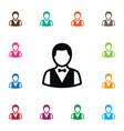 isolated depositor icon boy element can b vector image vector image