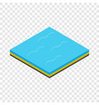 sea isometric icon vector image vector image