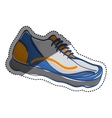 Sport sneaker isolated vector image