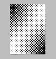 abstract geometric halftone dot pattern brochure vector image vector image